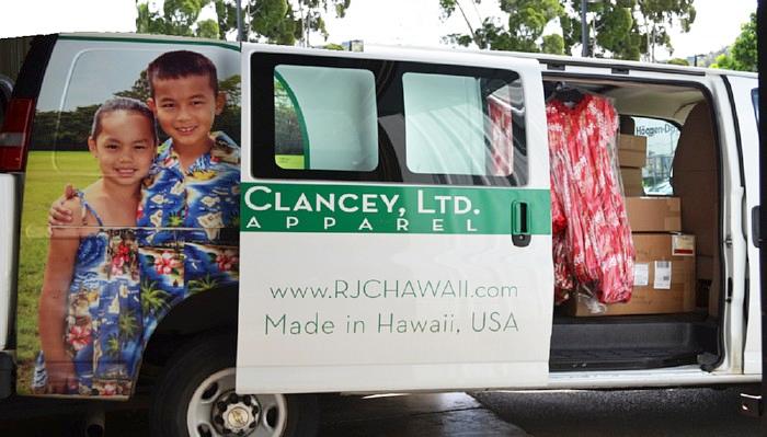 chemise hawaienne Robert J. Clancey