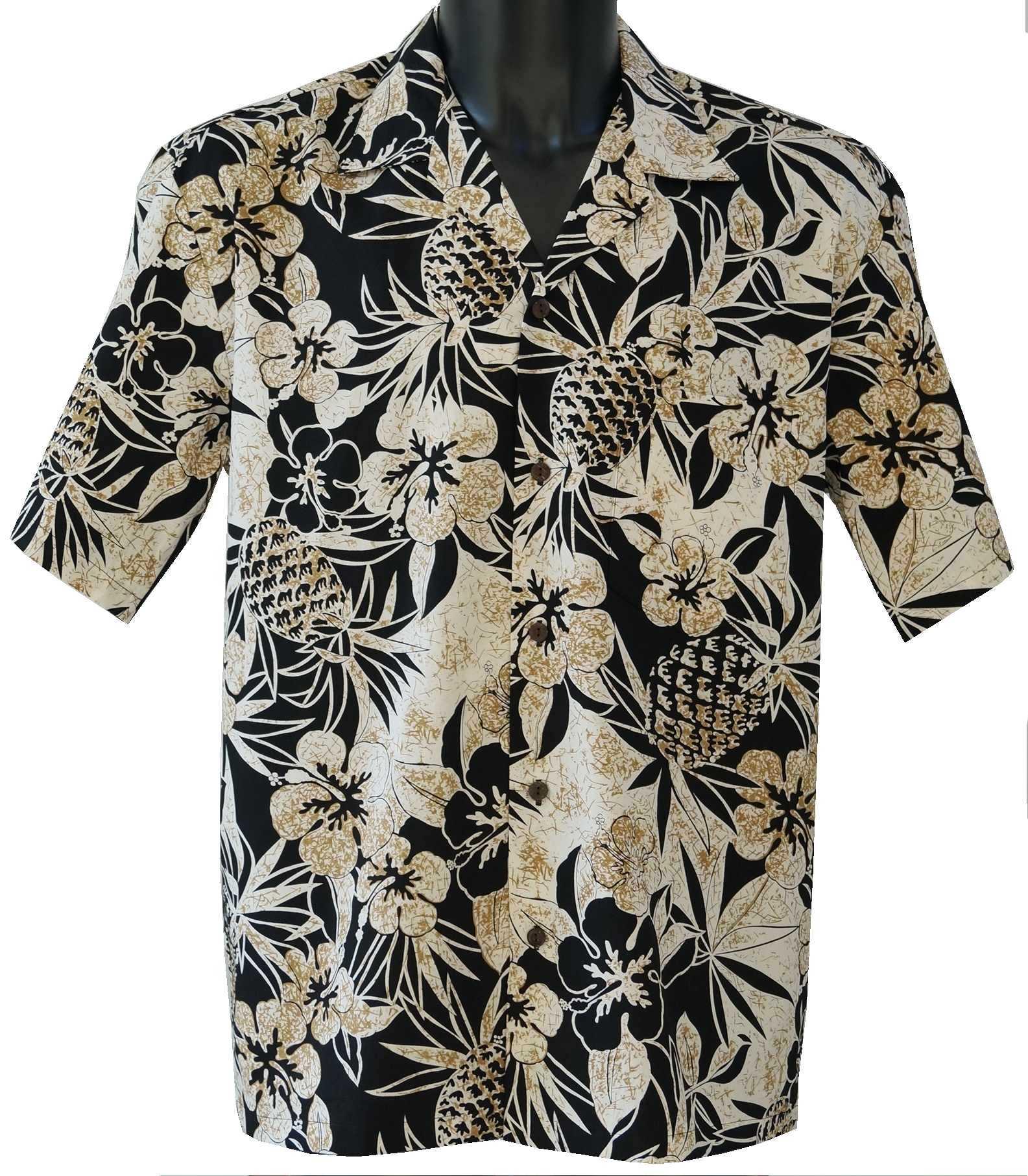 Homme A Hawaienne chemises Chemises Hawaienne Fleurs Homme chemise xYwqt7tz