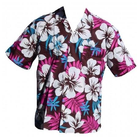 * Afin d'assurer un bon ajustement, nous recommandons de mesurer une chemise qui se loge confortablement et ensuite commander la chemise hawaïenne selon nos informations de dimensionnement dans la galerie.