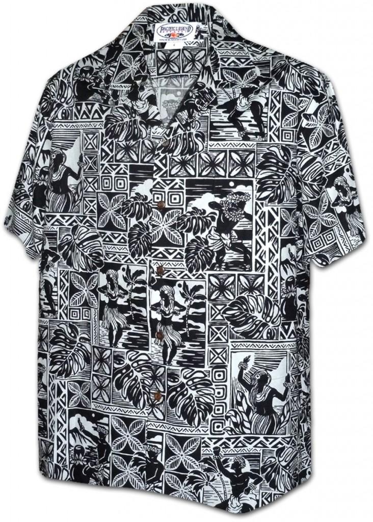 chemise-hawaienne-noire