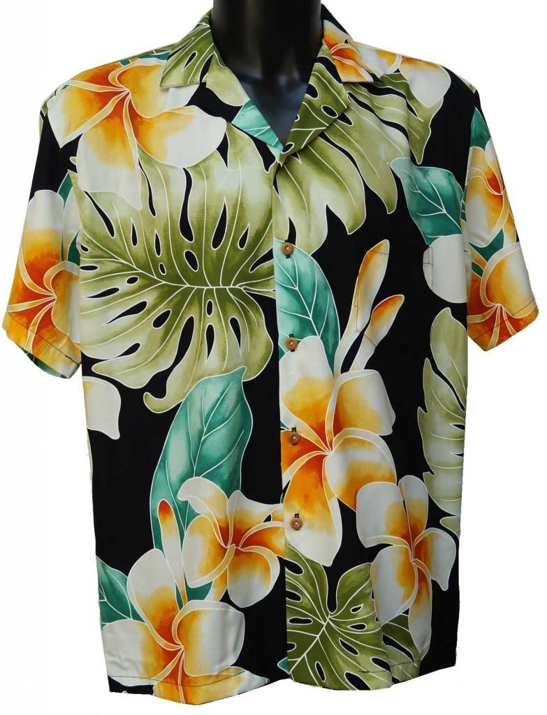 Chemise Hawaienne Chemise A Fleurs Couleur Tropiques